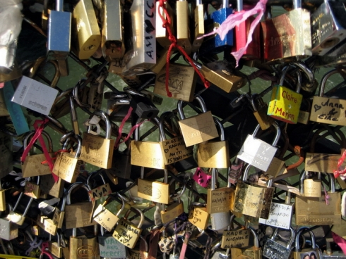 Love Locks Pont