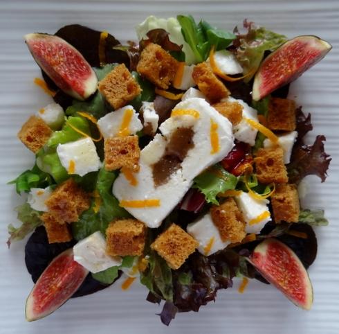 Salad pain d'épices